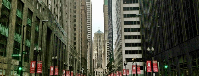 LaSalle Street Financial District is one of Explore Chicago - On Location.