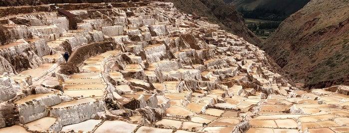 Salineras de Maras is one of Tempat yang Disukai Alan.