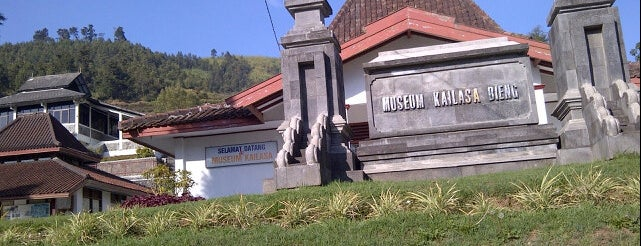 Musium Kailasa is one of Dieng Plateau.