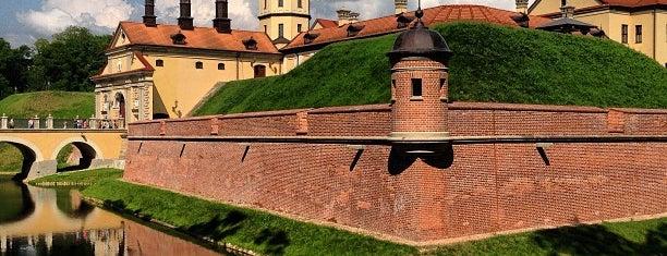 Несвижский замок is one of UNESCO World Heritage Sites in Eastern Europe.