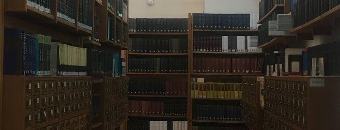 Türk Tarih Kurumu Kütüphanesi is one of Kütüphane.