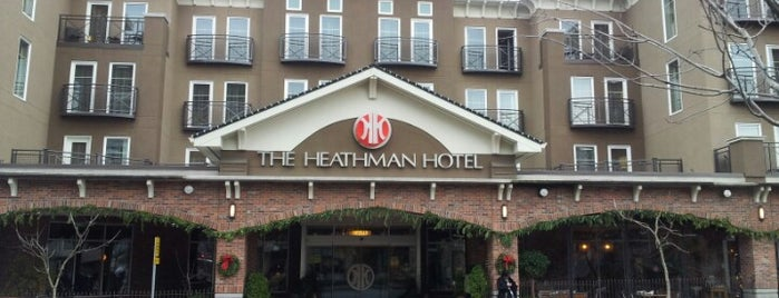 The Heathman Hotel Kirkland is one of Best Spots to Crash.