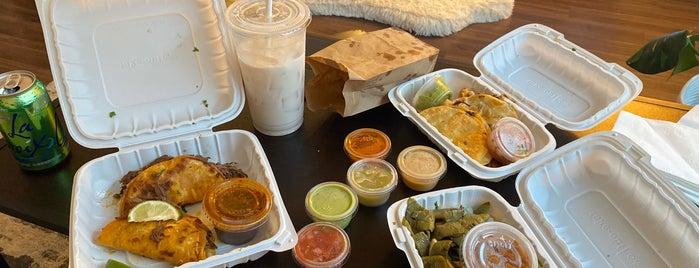 Tacos El Patron is one of [ San Francisco ].