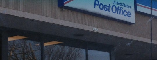 US Post Office is one of Locais curtidos por C.