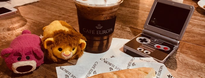 Cafe Europa is one of Eri's 2018.