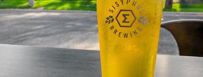Sisyphus Brewing is one of Lugares guardados de Adam.
