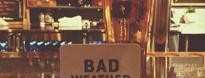 Bad Weather Brewing Company is one of Posti salvati di Brent.