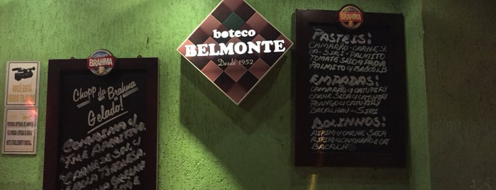 Boteco Belmonte is one of Lugares favoritos de Joao.