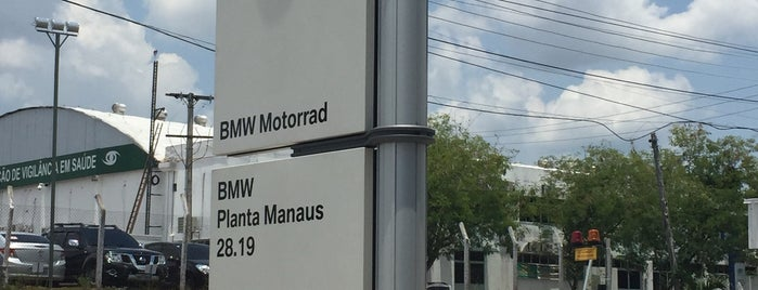 bmw Motorrad fabrica manaus is one of Joao : понравившиеся места.