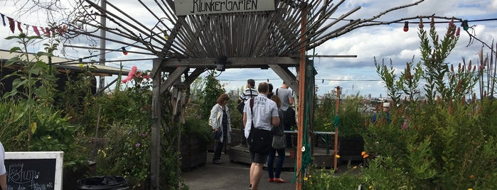 Klunkerkranich is one of Berlin spots to visit.