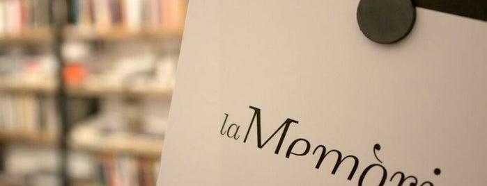La Memòria Llibreria is one of Bookstores.