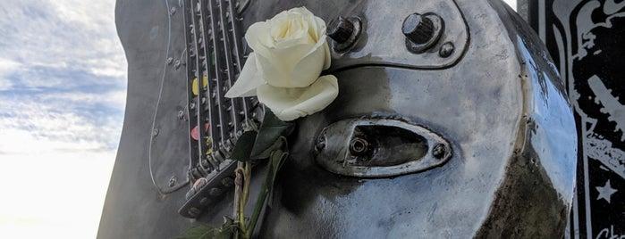 Jimi Hendrix Grave is one of Locais curtidos por Alan-Arthur.