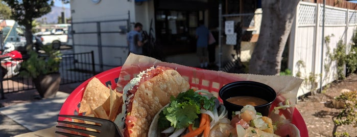 East Beach Tacos is one of Santa Barbara 2018.