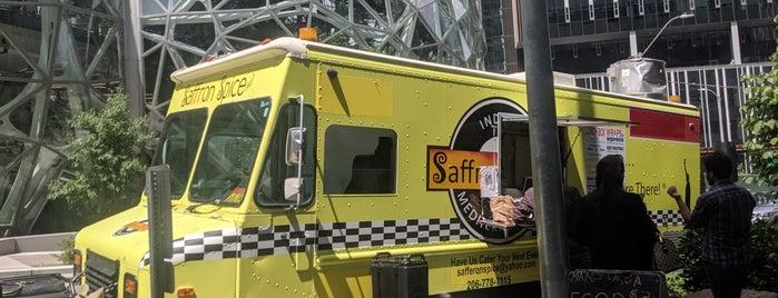 Saffron Spice is one of Amazon Campus (SLU) Lunch Spots.