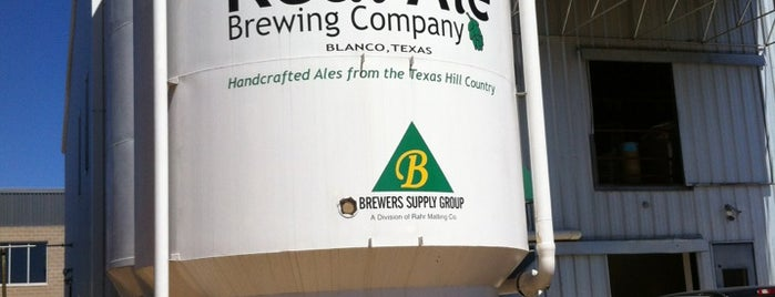 Real Ale Brewing Company is one of Texas Craft Breweries.