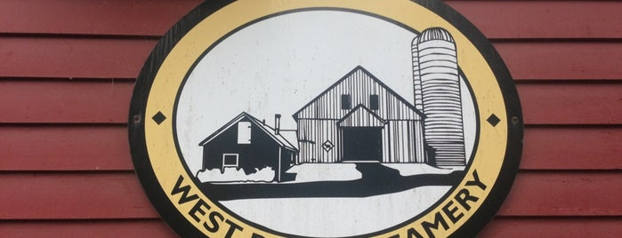 West River Creamery is one of Vermont Cheese Trail.
