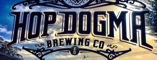 Hop Dogma Brewing Co. is one of Dog friendly by night.