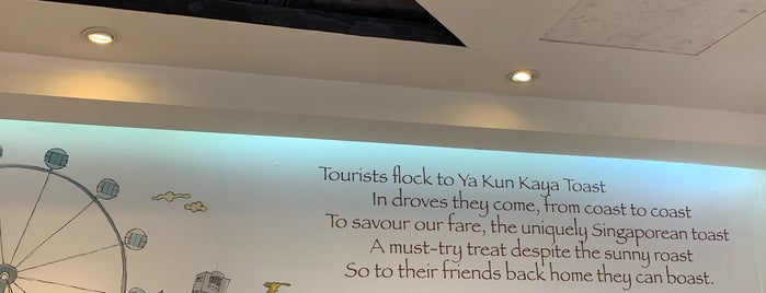 Ya Kun Kaya Toast 亞坤 is one of MAC'ın Beğendiği Mekanlar.