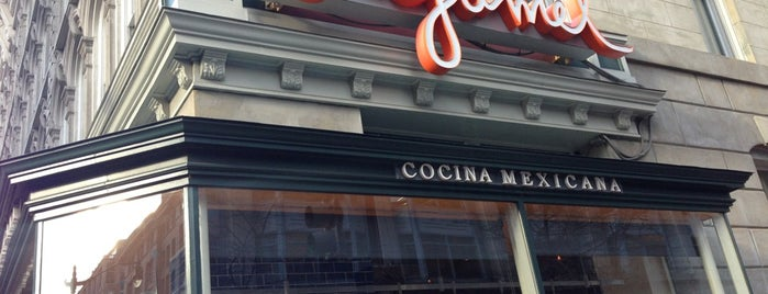 Oyamel Cocina Mexicana is one of Jose Andres.