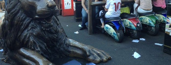 Camden Market Lion is one of The Next Big Thing.