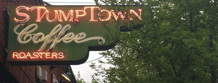 Stumptown Coffee Roasters is one of Portland/Oregon.