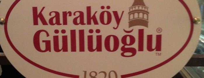 Karaköy Güllüoğlu Üretim Tesisi is one of Istanbul.