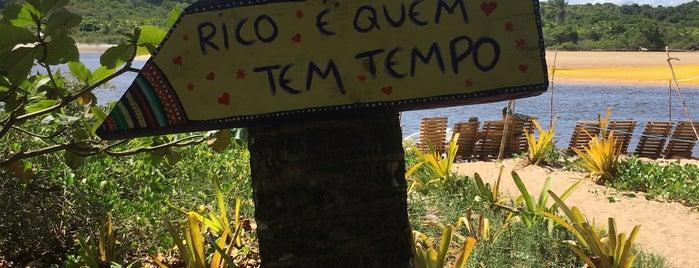 Barra do Rio Caraíva is one of Locais curtidos por Dade.