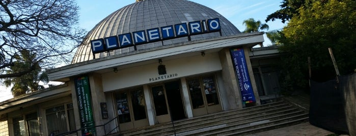 Planetario Germán Barbato is one of Montevideo.