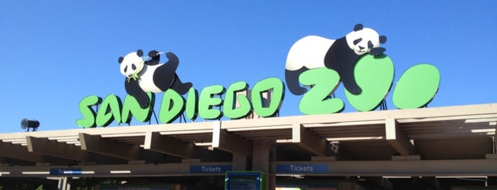 San Diego Zoo is one of San Diego's best Spots = Peter's Fav's.