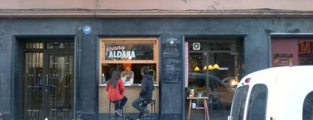 Jonny Aldana Bar is one of Wifi places in Barcelona.