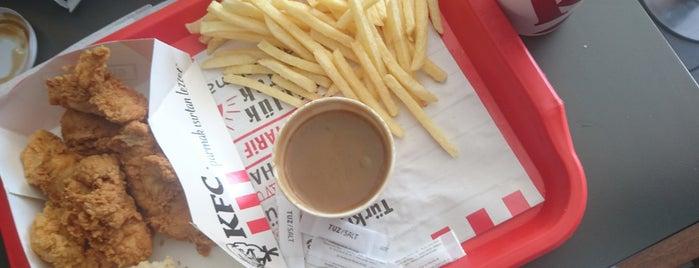 KFC is one of Orte, die Ekrem gefallen.
