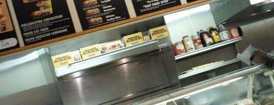 Penn Station East Coast Subs is one of Cinci Work Food.