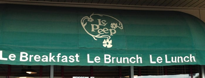 Le Peep is one of Houston Restaurants.