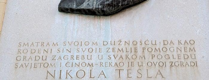 Nikola Tesla's sculpture is one of Zeljkaさんのお気に入りスポット.