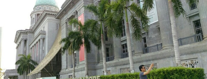 National Gal­lery Singa­pore is one of Singapur, SIN.