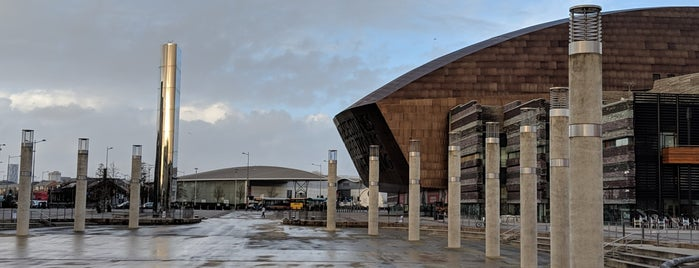 Roald Dahl Plass is one of Local's Guide to Cardiff.