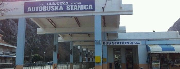 Autobuska stanica Kotor is one of Lieux qui ont plu à Carl.