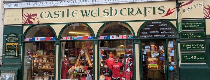 Castle Welsh Crafts is one of Local's Guide to Cardiff.