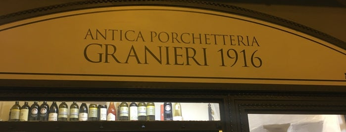 Antica Porchetteria Granieri 1916 is one of Florence.