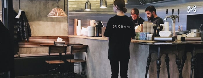 Duoband bistro is one of Saint P.