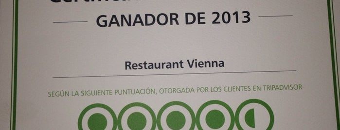Vienna Restaurant is one of La Paz.