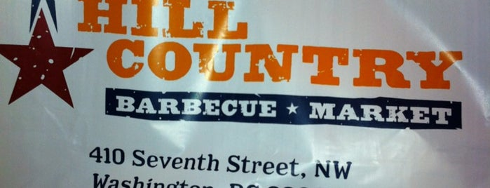 Hill Country Barbecue Market is one of Food in DC.