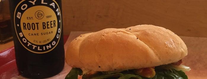 Krazy Jim's Blimpy Burger is one of Tempat yang Disukai Pete.