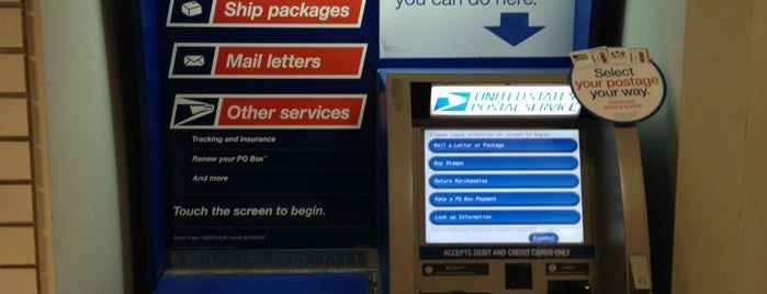US Post Office is one of Tempat yang Disukai Jordan.