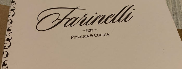 farinelli 1937 restaurant is one of Miami.