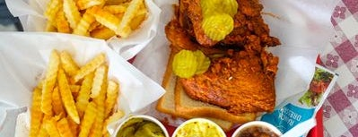Prince's Hot Chicken Shack is one of Lugares guardados de Mary.