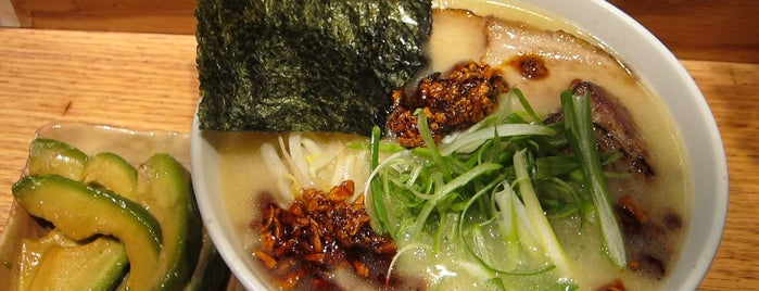 Totto Ramen is one of Sietsema's NYC Ramen Heatmap.