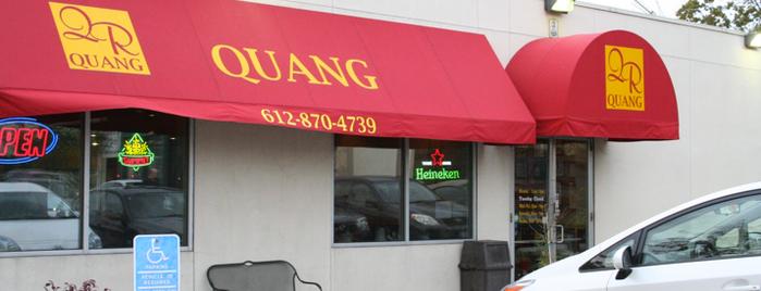Quang Restaurant is one of Locais salvos de Justin.