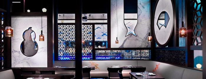 Hakkasan Nightclub is one of Posti salvati di Rex.