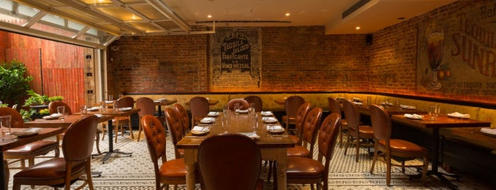 Tacuba is one of The Definitive Guide to Theater District Dining.